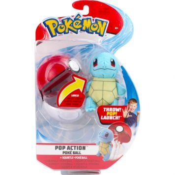 Pokemon Action Poke Ball Squirtle En Poke Ball