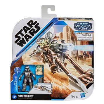 Star Wars Mission Fleet Mando and The Child  Speeder