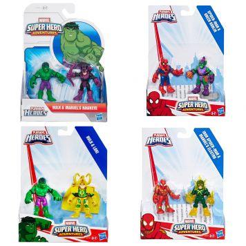 Marvel Super Hero Figuur 2-Pack Assorti