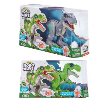 Robo Alive T-Rex 2 Assorti Serie 2 Zuru - Dinosaurus