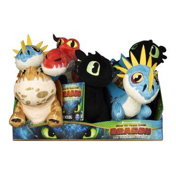 Dragon Basic Pluche 20 Cm Assorti