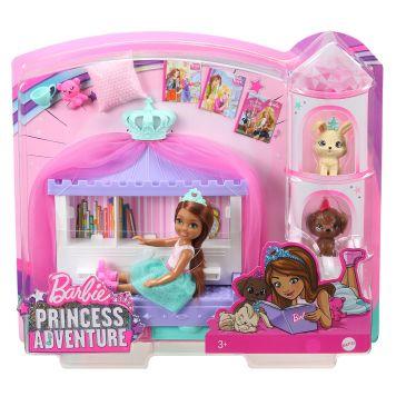 Barbie Princess Adventure Chelsea Friend Badtijd Speelset
