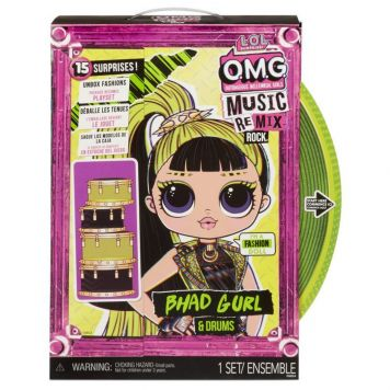 L.O.L Surprise! Omg Remix Rock- Bhad Gurl And Drums