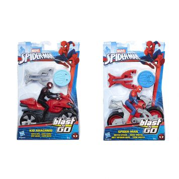 SPIDERMAN BLAST N GO RACERS