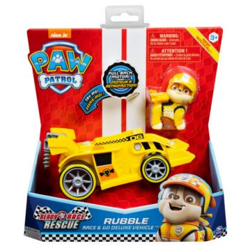Paw Patrol Race Themed Vehicle Rubble