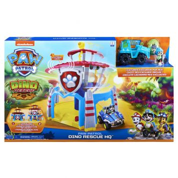 Paw Patrol Dino Headquarters Playset
