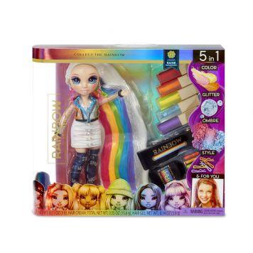 Rainbow Surprise Hair Play Rainbow Doll
