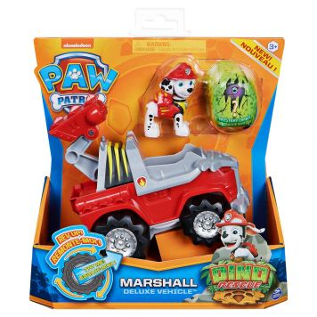 Paw Patrol Dino De Luxe Themed Vehicle Marshall