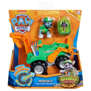 Paw Patrol Dino De Luxe Themed Vehicle Rocky