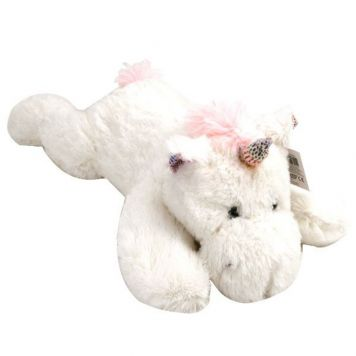 Laying Unicorns Pluche 62 Cm