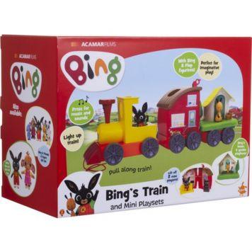 Bing Trein Licht En Geluid Speelset
