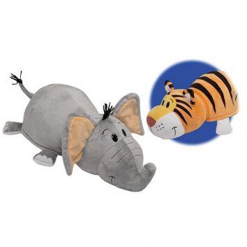 Pluche Flip A Zoo 2-In-1 Assorti