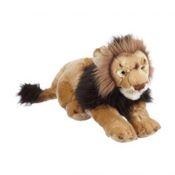 Leeuw Pluche Liggend 46 Cm