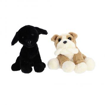 Honden Pluche 45 cm 4 Assorti