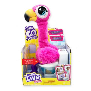 Gotta Go Flamingo - Interactieve Knuffel