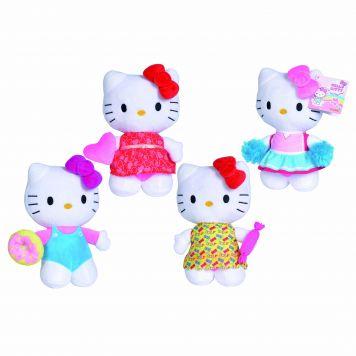 Hello Kitty Pluche 20cm 4 Assorti