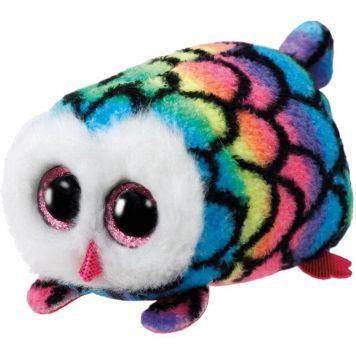 Ty Hootie Multi Owl Teeny Ty