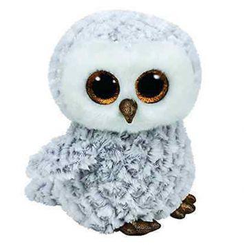 Ty Beanie Witte Uil Owlette 24 Cm