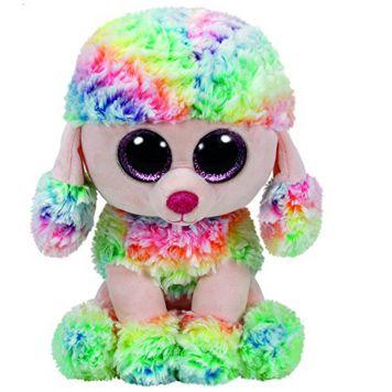 Ty Beanie Multi Kleur Poedel Rainbow 24 Cm
