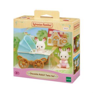 Sylvanian Families 5432 Set Tweeling Chocolade konijn