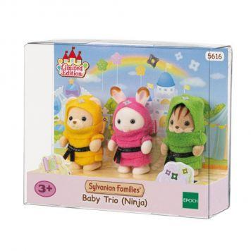 Sylvanian Families 5616 Baby Ninja Trio