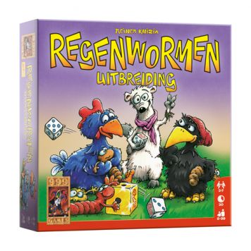 Spel Regenwormen Uitbreiding