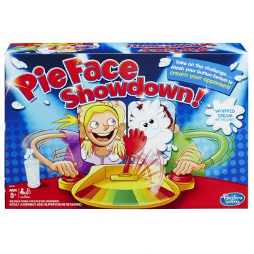 Spel Pie Face Show Down