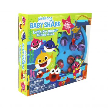 Spel Baby Shark Vissen Vangen