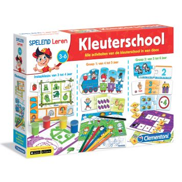 Spel Kleuterschool Clementoni