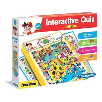 Interactieve Quiz Junior 4 - 6 Jaar Clementoni