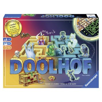 Spel Doolhof Glow In The Dark