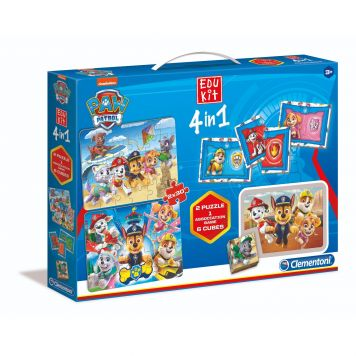 Spel Educatief kit 4 in 1 Paw Patrol Clementoni