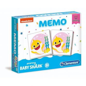 Spel Memo Baby Shark Clementoni