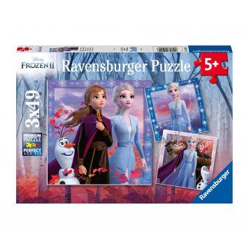 Puzzel Frozen 2 3X49 Stuks