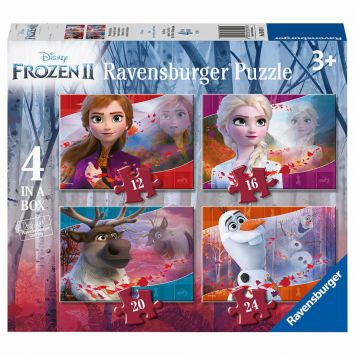 Puzzel Frozen 2 4 In 1