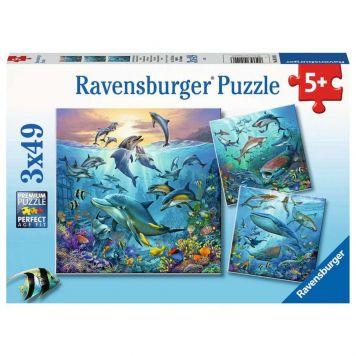 Puzzel Onderwater 3X49 Stukjes