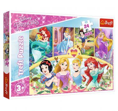 Puzzel Maxi Princess Magic Of Memo 24 Stukjes