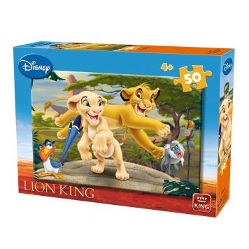 Puzzel Lion King 50 Stukjes