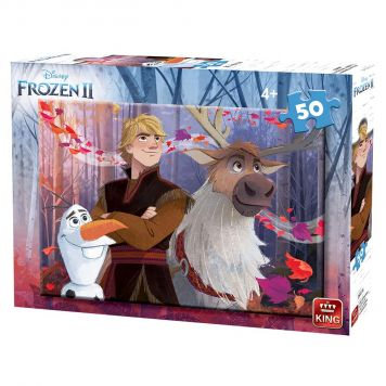 Puzzel Frozen 2 Assorti