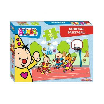 Bumba Puzzel 9 Stuks Basketbal