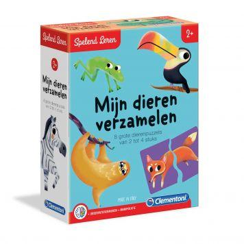 Puzzel Dieren Herkennen (NL) Clementoni