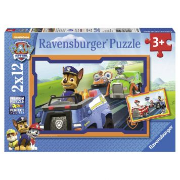 Puzzel Paw Patrol In Actie 2x12 Stukjes