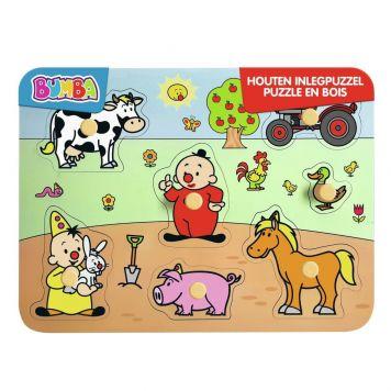 Bumba Houten Puzzel Boerderij 7 Stukjes