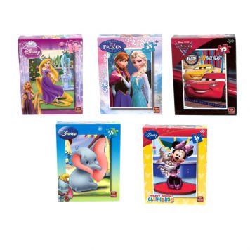Puzzel Disney Puzzel Mini Mix 35 Stukjes