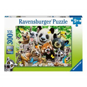 Ravensburger Puzzel Wildlife Selfie 300 XXL Stukjes