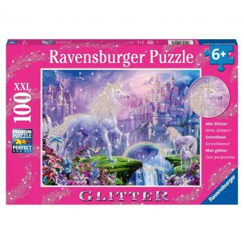 Puzzel Eenhoorn 100XXL Glitter