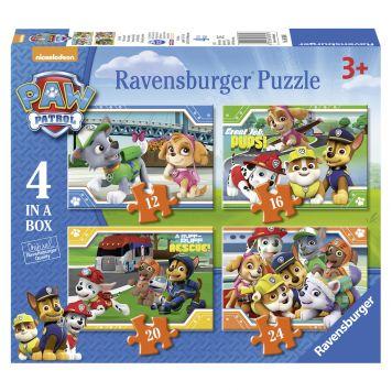 Ravensburger Puzzel Paw Patrol 12+16+20+24 Stukjes