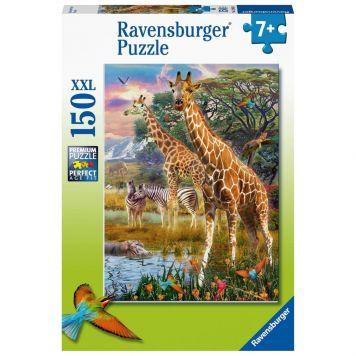 Puzzel Giraffen 150 Stukjes XXL