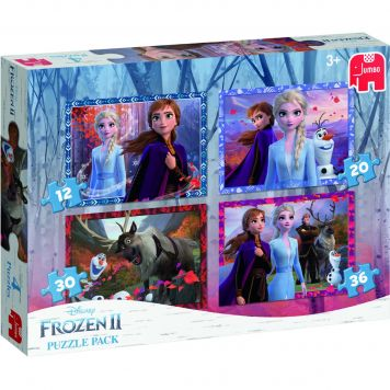 Puzzel 4 In 1 Pack Disney Frozen 2