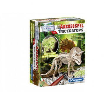 Wetenschap Dig Line Triceratops
